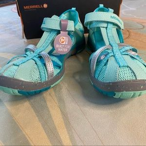 Merrell Hydro Monarch Turquoise Water Shoes 5